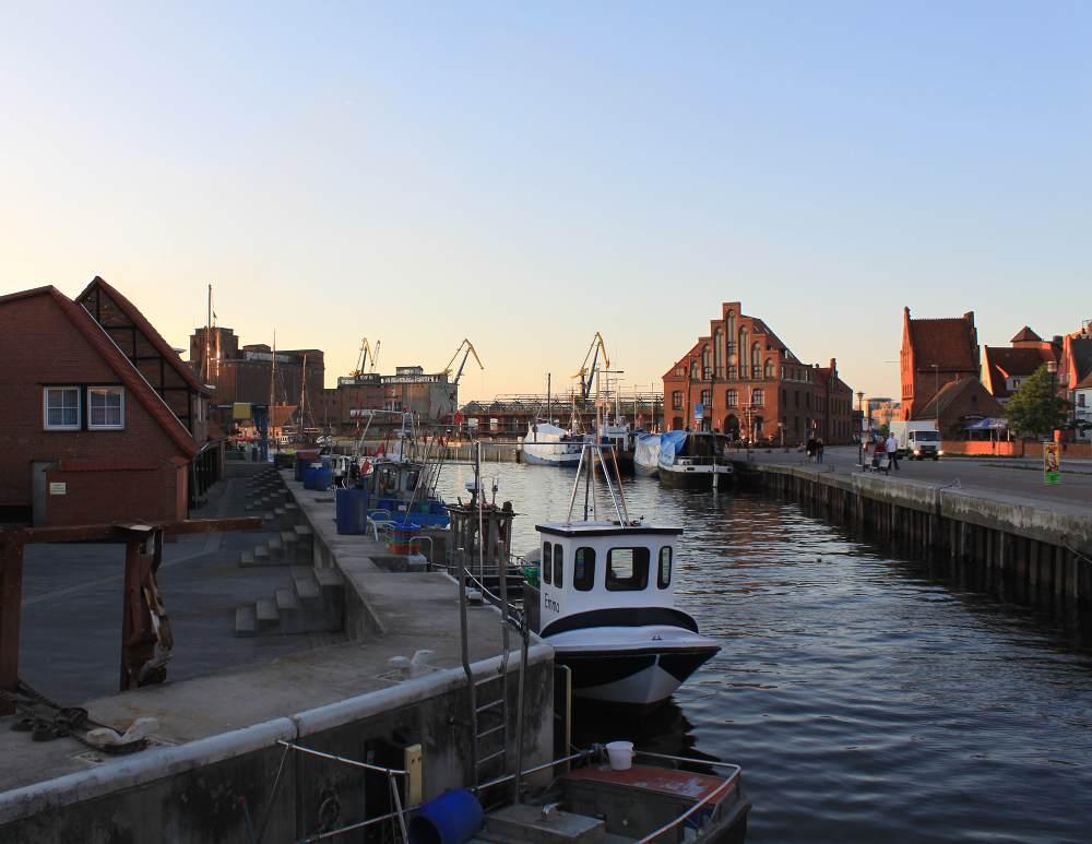 Der Hafen von Wismar - Gottfrieds Steak- und Fischrestaurant Wismar